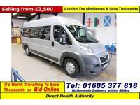 2011 - 61 - PEUGEOT BOXER 435 2.2HDI 7 SEAT DISABLED ACCESS PTS MINIBUS / CAMPER