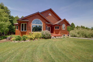 4500 sq ft Country Oasis Home on 42 Acres, 3 acre Lake!