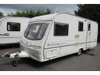 Avondale Rialto 550-4 2003 4 Berth Caravan + Porch Awning