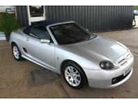 TROPHY CARS MGF MGTF 135,ONLY 21000 MLS,CHROME HOOPS,NEW HEADGASKET,WARRANTY