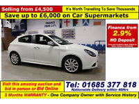 2012 - 61 - ALFA ROMEO GIULIETTA 1.4 PETROL 5 DOOR HATCHBACK (GUIDE PRICE)