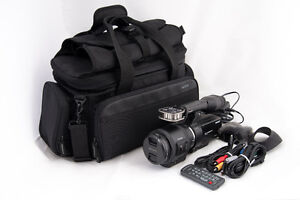 Sony NEX-VG30H Camcorder, 18-200mm f/3.5-6.3 Lens and Case