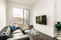 3 1/2 Beautiful Luxury 1br condo furnished OLD MONTREAL