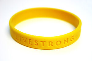 LIVESTRONG Yellow Wristband - YOUTH Size