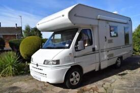 Bessacarr E425 Coachbuilt Motorhome for Sale L Shaped Rear Lounge 4 Berth 3400kg