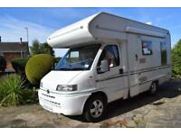 Bessacarr E425 Coachbuilt Motorhome for Sale L Shaped Rear Lounge 4 Berth 3400kg