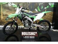 2017 KAWASAKI KXF 250 MOTOCROSS BIKE RENTHAL BARS, NEW GRIPS