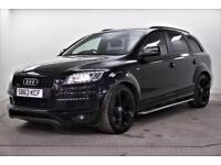 2013 Audi Q7 TDI QUATTRO S LINE PLUS Diesel black Automatic