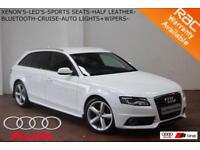 Sept 09 Audi A4 Avant 2.0TDI (143PS) S Line-LED'S-XENONS-BLUETOOTH-F.S.H.