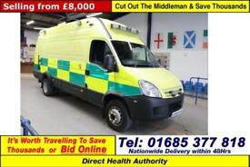 2009 - 59 - IVECO DAILY 65C18 3.0HPI LWB HIGH TOP SUPPORT AMBULANCE w/ TAIL LIFT