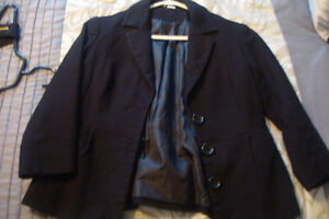 Variety of clothes, tops and blazers