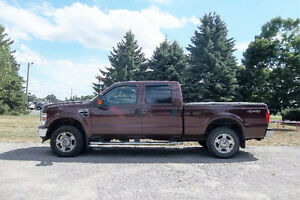 2009 Ford F-250SD XLT 4x4- Crew Cab. VALID E TEST & ONLY $15 000