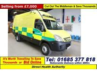 2008 - 58 - IVECO DAILY 65C18 3.0HPI LWB HI TOP INCIDENT SUPPORT VEHICLE