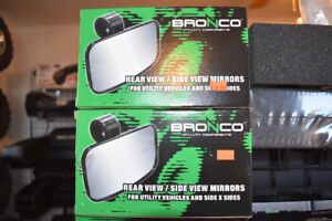 BRONCO UTV REAR VIEW/SIDE VIEW MIRRORS IN STOCK NOW!