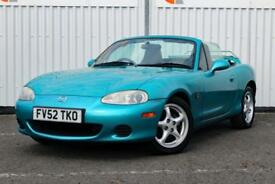 2003 MAZDA MX-5 1.6 CONVERTIBLE, FULL SERVICE HISTORY LOW MILEAGE 12M MOT INC