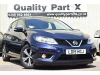 2015 Nissan Pulsar 1.2 DIG-T Acenta Xtronic (s/s) 5dr