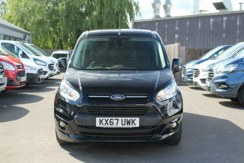 Ford Transit Connect 210 Limited 1 5TDCi 120PS in Black + Nav, Cam, A/C |  in Hinckley, Leicestershire | Gumtree