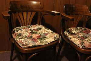 Antique Czec. Drevounia Arm Chairs