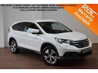2014 Honda CR-V 1.6i-DTEC SR 4X2-SAT NAV-CAMERA-B/TOOTH-CRUISE-XENON LIGHTS-