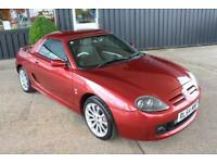 TROPHY CARS MGF MGTF 115 SPARK,HARDTOP,26000 MILES,NEW HEADGASKET,1YR WARRANTY