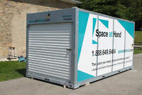 Renovation time! Book your portable moving container now