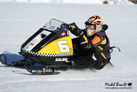 Ski Doo vintage ice oval racer for sale!