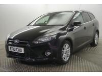 2012 Ford Focus TITANIUM TDCI Diesel black Automatic