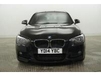 2014 BMW 1 Series 116D M SPORT Diesel black Manual