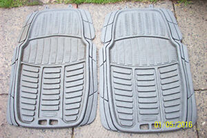 Winter rubber front mats (Aylmer)
