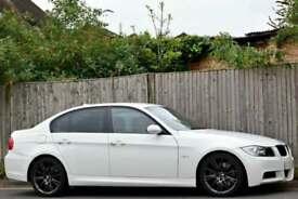 BMW 325d M SPORT 3.0 DIESEL MANUAL 5DR SALOON 2008 [58] WHITE