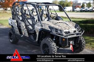 2016 Can-Am Commander Max XT 4 Passenger Side by S