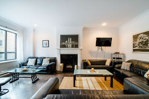 GORGEOUS 3BEDROOM IN THE HEART OF MONTREAL -GUY CONCORDIA
