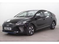2017 Hyundai Ioniq SE PETROL/ELECTRIC black Semi Auto