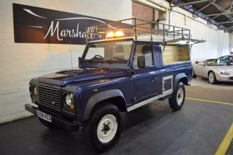 2008 08 LAND ROVER DEFENDER 110 2.4 110 DCB HARD TOP LWB 1D 121 BHP DIESEL