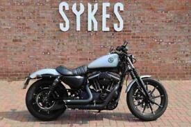 2020 Harley-Davidson XL883N Sportster Iron in Silver