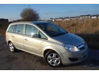 2008 Vauxhall Zafira 1.6 i 16v Exclusiv 5dr