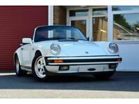 1986 Porsche 911 CARRERA 3.2 Cabriolet Convertible Petrol Manual