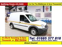 2013 - 13 - FORD TRANSIT CONNECT T230 1.8TDCI 90PS LWB VAN (GUIDE PRICE)
