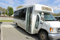 1999 Ford F350 Diesel 24 passenger minibus for sale