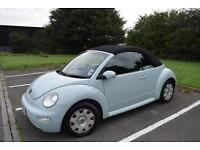 Volkswagen Beetle cabriolet 1.6, Petrol, cambelt replaced, full service history