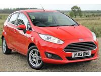 2013/13 Ford Fiesta 1.25 Zetec, Red, 34k Miles, **EXCELLENT CONDITION**