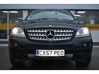 2007 57 Mercedes-Benz ML280 3.0TD CDI GOOD & BAD CREDIT CAR FINANCE AVAILABLE