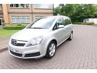 SOLD NOW 2007 Vauxhall Zafira 1.8i Auto 7 seater Left hand drive lhd UK Reg