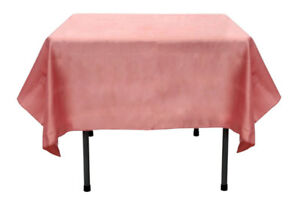 "60"" x 60"" Satin Tablecloth"