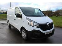 Renault Trafic 1.6dCi SL29 115 Business With Sat / Nav white Diesel SWB VAN