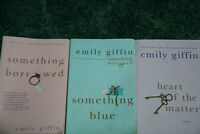3 Emily Giffin Novels
