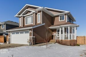 Camrose home located on OVERSIZED, corner lot in CREEKVIEW