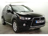 2012 Mitsubishi Outlander DI-D GX 3 Diesel black Manual
