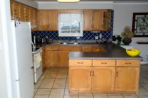 Kitchen Cabinets-Complete Set, Bleached Maple, Very Good Cond. Kitchener / Waterloo Kitchener Area image 9