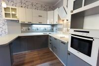 Cabinet installer, Kitchen installation